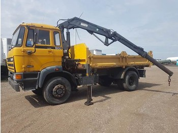 DAF 1900TURBO 4X4 / KIPPER / CRANE - kiper