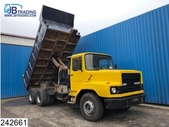 DAF 2800 6x4, Steel suspension - kiper
