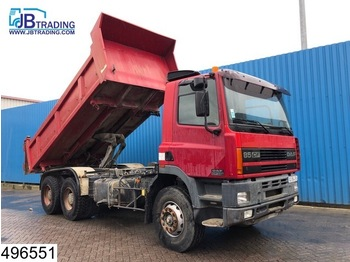 DAF 85 CF 340 EURO 2, 6x4, Manual, Steel suspension, Hub reduction - kiper