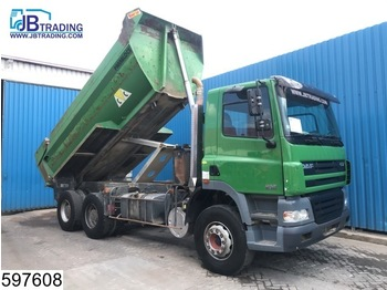 DAF 85 CF 380 6x4, Manual, Steel suspension, Hub reduction, Airco, Analoge tachograaf - kiper