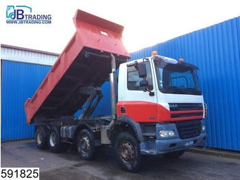 Kiper DAF 85 CF 430 8x4, Manual, Retarder, Steel suspension