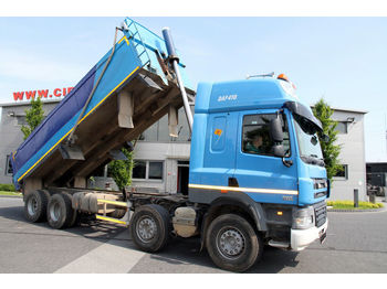 DAF 8x4 CF 85.410 TIPPER RIGHT HAND DRIVE - kiper