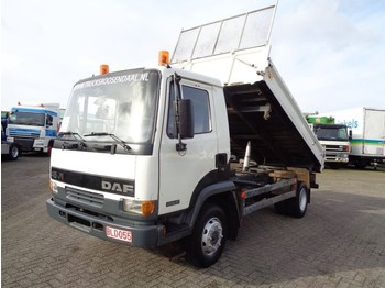 DAF LF45.150 3 SIDE KIPPER + MANUAL - kiper