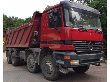MERCEDES-BENZ Actros 4143 Manual GearBox. Big Axels - kiper