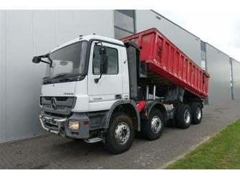 Mercedes-Benz ACTROS 4155 8X4 RETARDER FULL STEEL  - kiper
