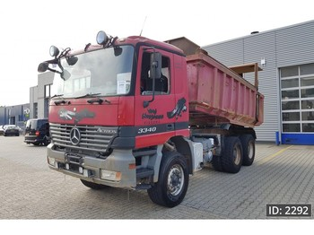 Kiper Mercedes-Benz Actros 3340 Day Cab, Euro 3, full steel suspension: slika kiper Mercedes-Benz Actros 3340 Day Cab, Euro 3, full steel suspension