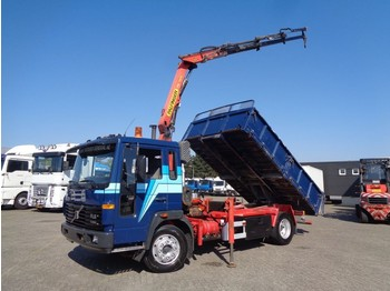 Kiper Volvo FL6 TURBO + Manual + PTO + Palfinger crane + Kipper+remote