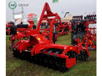 Agro-factory Scheibenaggregat 3m/Disc harrow cultivator 3 m THOR AT/ Agregat talerzowy 3m THOR AT - kultivator