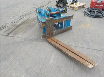 Vilice Strickland Fork Frame & Forks 65mm Pin to suit 13 Ton Excavator