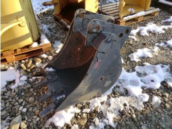 New 60 CM REAR ARM BUCKET WITH TEETH. WEIGHT 170 KG - žlica za bager